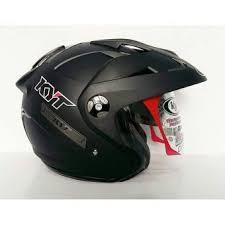 Helm Catok harga helm nhk r6 black dof otomotif terbaru