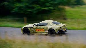 first official spy shots of the all new 2018 aston martin vantage