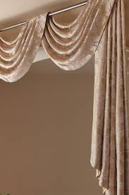 gold ivy swag valance drapes