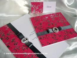 Making Wedding Invitations Making Way For New Designs Black Tie Wedding Invitations