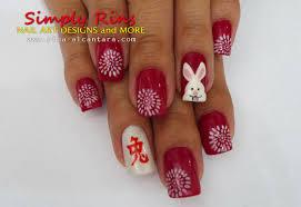 nail art chinese new year 2011 simply rins