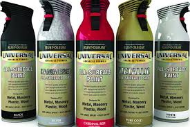 rust oleum universal spray paint uncrate