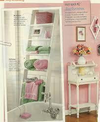Diy Leaning Ladder Bathroom Shelf by Best 25 Leaning Ladder Shelf Ideas On Pinterest Ladder Bookcase