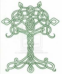 Trees And Their Meanings by Celtic Tree Of Life Stencil Designs From Stencil Kingdom Polymer