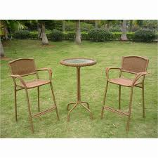metal patio table and chairs bar height patio table and chairs amazing patio bistro table