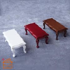handmade wood coffee table 2018 1 12 doll house mini table accessories diy living room handmade