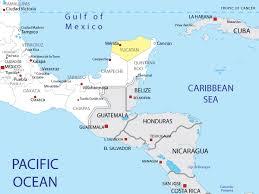 map of mexico yucatan region map of yucatan in mexico