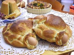 calabrian cuisine sguta how it is calabria s traditional easter bread