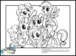 mlp fim coloring pages top drawer my little pony tales coloring