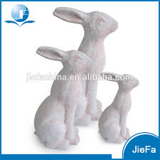 paper mache rabbit large decorative easter rabbit easter bunny in paper mache