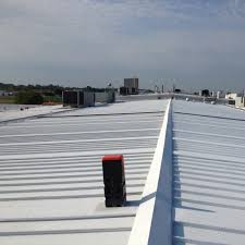 Apoc Elastomeric Roof Coating by White Roof U0026 White Roof Grey House Iu0027m Starting To See A