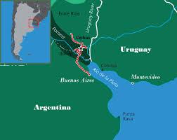 Parana River Map Normal Buenos Días Birding