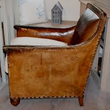 antique french leather club chair antiques atlas