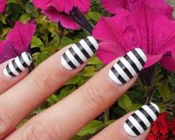 buy black nail foil wraps polish strips stickers for fingers and