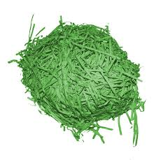 green paper easter grass easter grass green paper shred 1 5oz 42 52g you can get