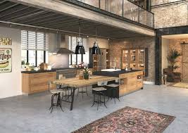 style cuisine cuisine type industriel cuisine style industriel bois cethosia me