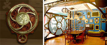Steampunk Home Decorating Ideas Steampunk Styling Victorian Retrofuturism At Home Urbanist