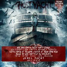 Halloween Ghost Yacht Party Nyc Tickets Fri Oct 27 2017 At 11