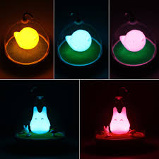 Totoro Home Decor by Kids Bedroom At Night Cute Hanging Design Touch Sensor Home Decor