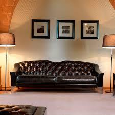 canap classique tissu canapé classique en cuir en tissu 2 places hector danti di