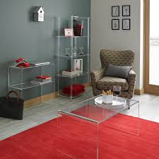 Acrylic Cocktail Table Furniture Low Square Acrylic Coffee Table With Tulip Coffee Table