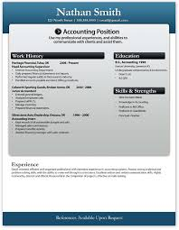Junior Accountant Sample Resume by Free Word Resume Resume Form Free Download Microsoft Office
