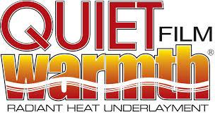 Laminate Flooring Over Radiant Heat Quietwarmth Radiant Heat Film For Floating Floors Youtube