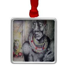 masai ornaments keepsake ornaments zazzle
