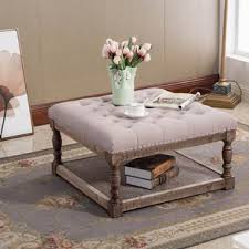 Tufted Coffee Table Tufted Ottomans Joss