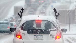 reindeer antlers for car ways to get your car into the christmas spirit