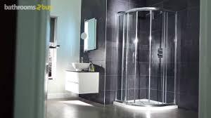 aquafloe 900 x 900 shower cubicle youtube