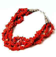 coral necklace red images Native american red coral sterling necklace by ht summers jpg