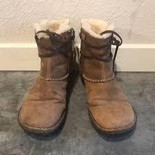 ugg shoes australia brown boots poshmark 33 ugg shoes ugg australia brown booties size 9 s