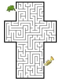letter t maze u0026 coloring book