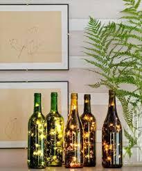 Wine Bottles With Lights 28 Diy Stunning Wine Bottle Centerpiece Diy To Make