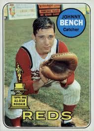 Johnny Bench Fingers 1969 Topps Baseball Checklist Set Info Key Cards More