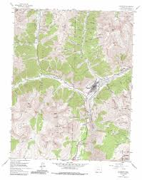 Denver Colorado On Map by Silverton Topographic Map Co Usgs Topo Quad 37107g6