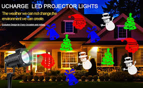 halloween light display projector amazon com led christmas projector light ucharge indoor outdoor
