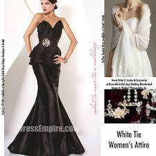 evening wedding dresses the guide to wedding dress codes the pink