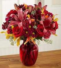 ftd autumn treasures bouquet premium fall thanksgiving