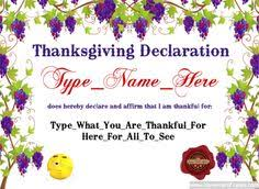 happy thanksgiving template free to customize download print