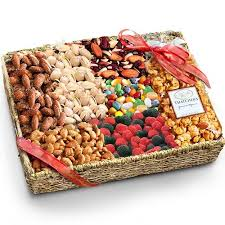healthy gift basket ideas fathers day and nuts grand gift basket fred s gift