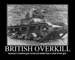Overkill Meme - british overkill military humor