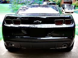 blacked out tail lights legal 10 13 chevrolet camaro smoked taillight film kit