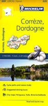 Maps France by 329 Correze Dordogne Michelin Local Map France Maps Where Are