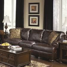 Leather Sofa Co by Darby Home Co Bannister Leather Sofa U0026 Reviews Wayfair