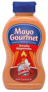 sriracha mayo nutrition woeber u0027s mustard company mayonnaise