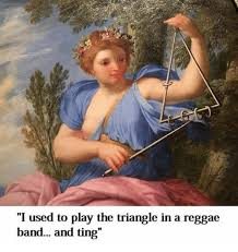 Reggae Meme - i used to play the triangle in a reggae band and ting reggae meme