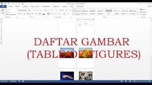 cara membuat daftar gambar word cara membuat daftar pustaka dan kutipan secara otomatis di microsoft