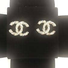 cc earrings chanel fashion earrings ebay